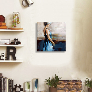 Customize portrait style 100% hand painted nude art work abstract figure canvas oil painting