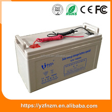 Factory direct heat resistant solar gel battery 12v 200ah with cheap price for solar system