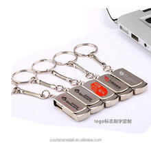 metal usb flash drive 4gb 8gb pendrive usb stick with logo memory stick silver/gold usb 2.0 pen drive u disk