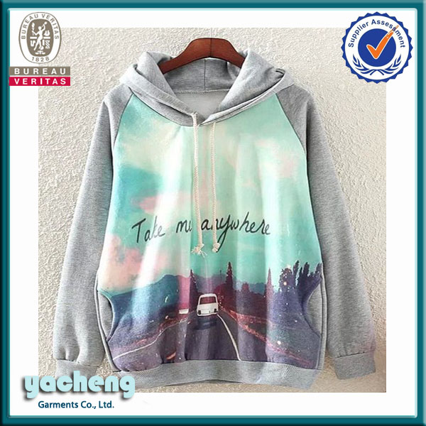 2014 newest womens hoodie ,own manufacture custom hoodies ,fashion na new style cheap sublimation hoodies