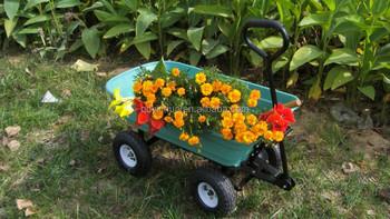 Beau 4 Wheels Garden Carts Plastic Garden Carts TC2145 Hand Carts