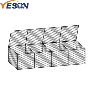 Anping Stainless steel Hexagonal gabion wire mesh boxes