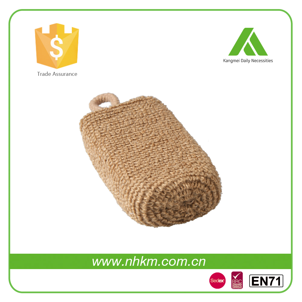 Kangmei Body Bath Pad Scrubber Pad hot selling sisal bath pad