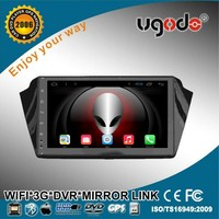 ugode unique U9 Android HD 9inch Car DVD Radio WIFI Rear View Camera for Skoda Fabia