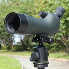 20-60x60 Waterproof Angled Spotting Scope with Tripod
