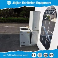Industrial mobile 5 ton ac package unit air conditioning for tent
