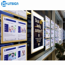 2019 innovation suspension licht <span class=keywords><strong>box</strong></span> led rahmen immobilien <span class=keywords><strong>poster</strong></span> displays werbung