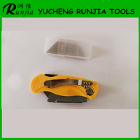 Plastic Floding Pocket Knife paper box cutter blade multifuctional utility knife T007-02