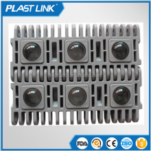 Plast link transmission belt 360 degree rotating fruit conveyor 400 cross roller top plastic modular belt