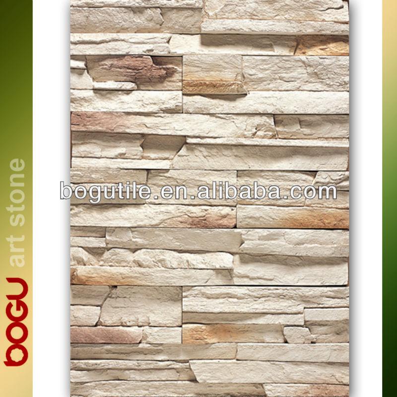 Imitaci n artificial azulejo de la pared exterior de - Piedra pared exterior ...