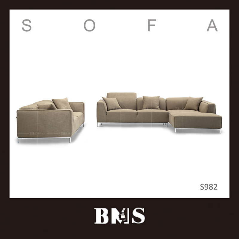 Simple shape High-tech mechanism functional headrests High density foam Indian sofa