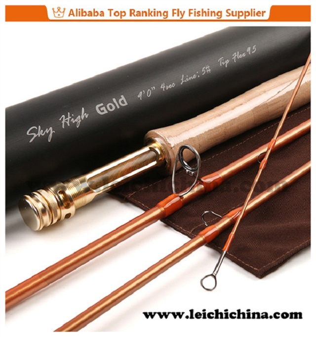 Top Quality Japan Toray carbon fishing fly rod