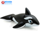 Eco-friendly coloufly PVC cheap price giant inflatable water toys pool whale floats