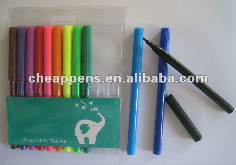 colored paper box pack children gift marker set