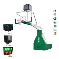 International standard basketball ring stand basketball pole height for competition