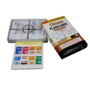 Custom Paper Flash Card Printing Language Learning Cards