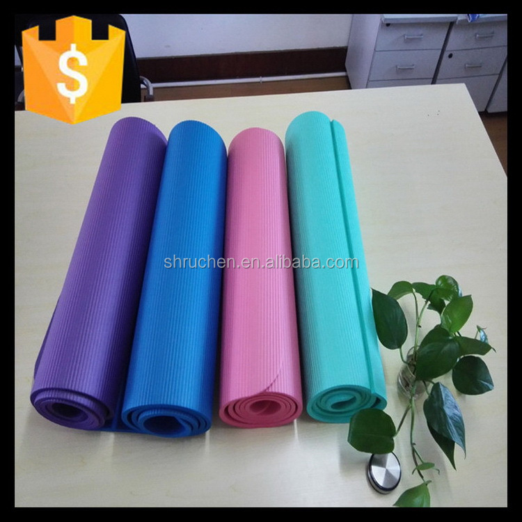 Many styles hot sale special deluxe gymnastic nbr yoga mat
