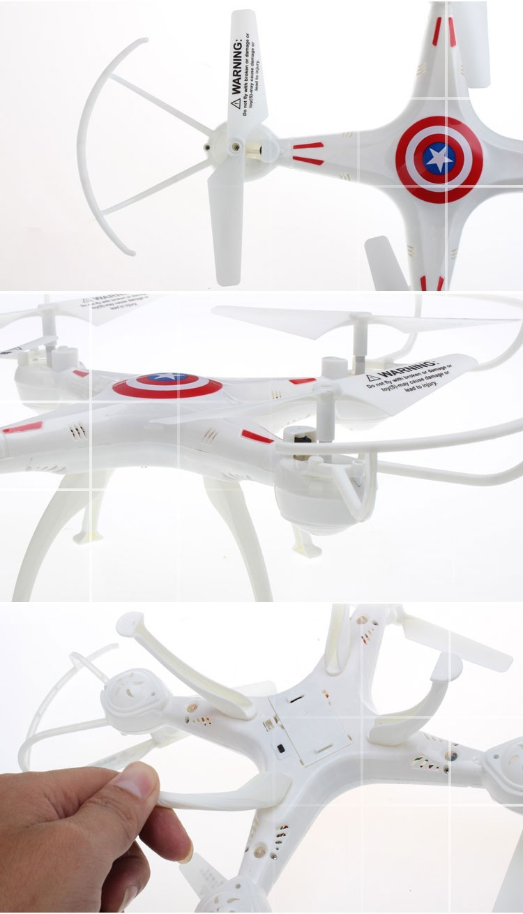 Hot Sale 2.4G RC Quadcopter HD Camera Large Model 668-A3 Rc Drone