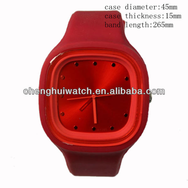 HOT sale plastic watches wholesale rubber watches bright colours