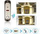 New wireless wifi front door visual talking doorbell security camera with intercom system