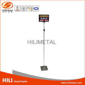 Plastic poster board frames sign price display stand adjustable supermarket advertising holder