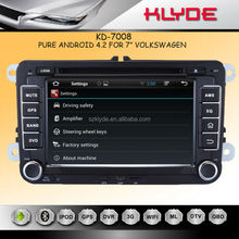 "KLYDE 7"" Android 4.2.2 for vw golf 5 car radio with Mirror Link Capacitive Touch Screen Multipoint support OBD2"