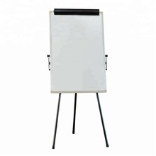 free standing mobile flipchart easel mobile whiteboard display