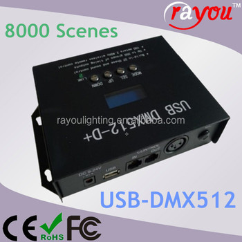 usb programmable christmas light controller usb dmx multi channel led controller computer christmas light