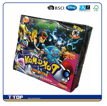 Fsc And Bsci Pokemon Game Play Cards Packaging Box Cardboard Paper Buy Pokemon Cards Packaging Box Pokemon Games Pokemon Box Paper Product On