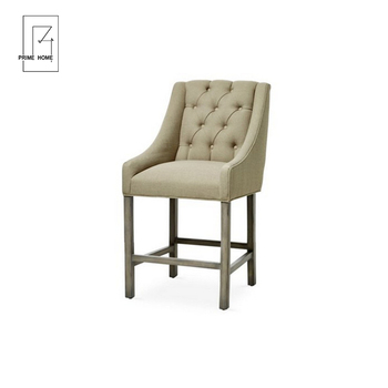 Superb Antique French Style Button Tufted Bar Stool King Chair Dining Furniture View Vintage Bar Stools Prime Home Product Details From Hangzhou Prime Home Dailytribune Chair Design For Home Dailytribuneorg
