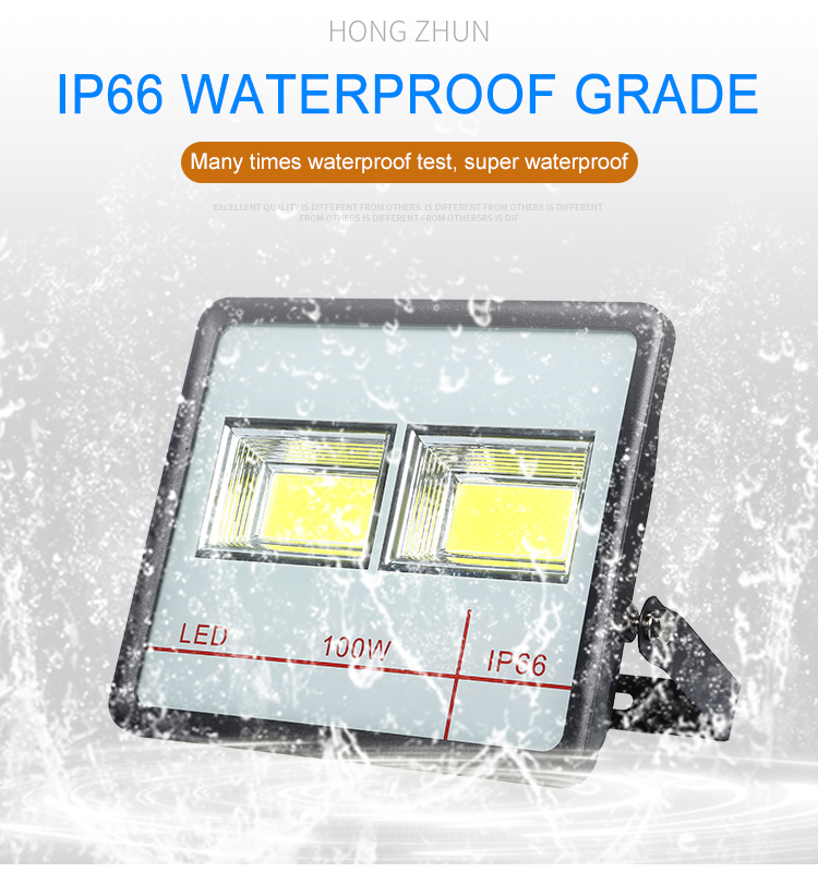 High lumen explosion proof outdoor lighting ip65 50 100 200 300 w led flood light