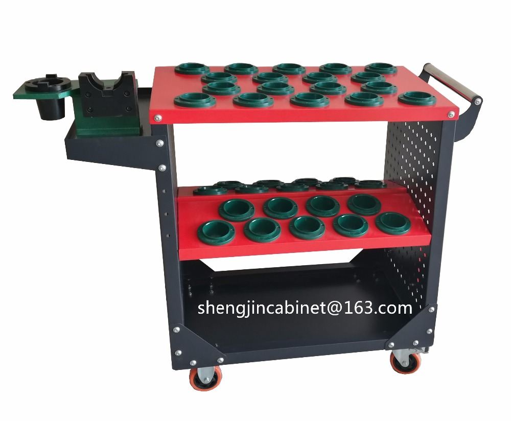 collapsible tool cabinet BT 30 BT40 BT50 cnc cutting tool holder tool trolley cabinet