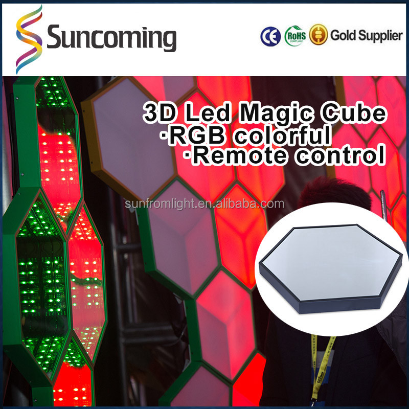 led rgbw ufo miroir infini effet disco plafond 3d vision lumi re 12 v pour night club disco. Black Bedroom Furniture Sets. Home Design Ideas