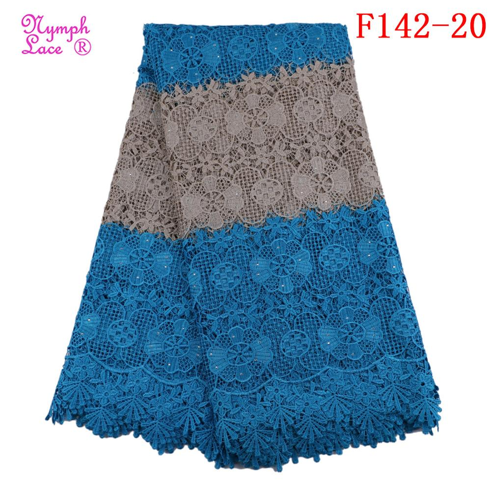 wholesale chemical guipure lace with sequins african guipure lace fabric
