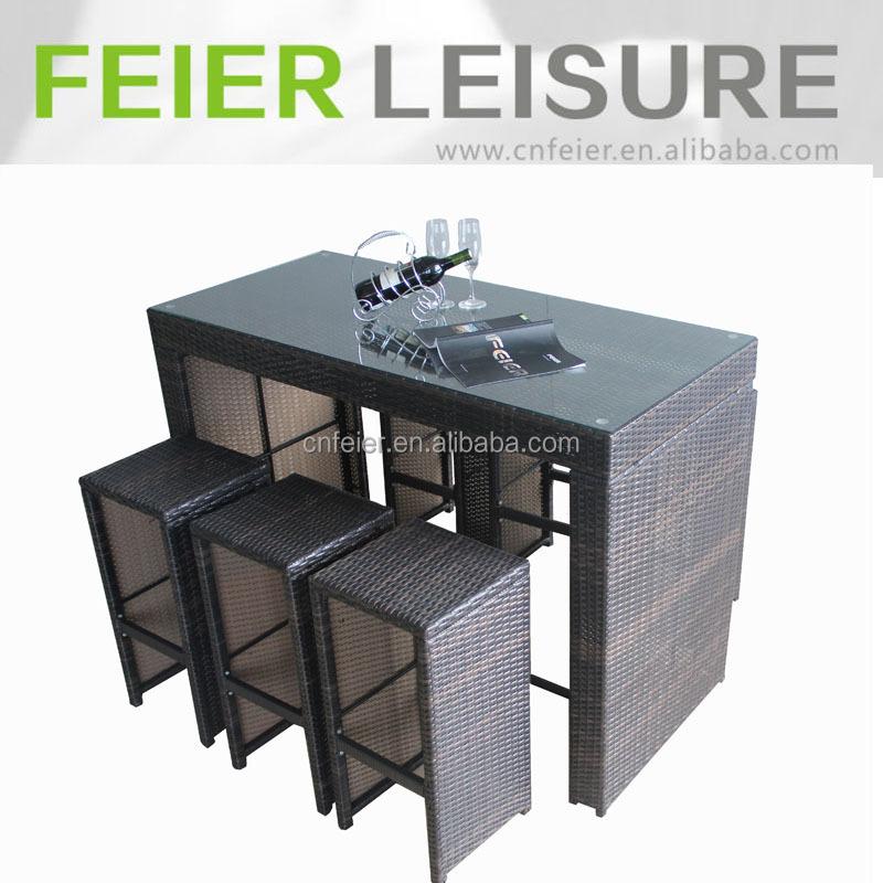Esterno e la casa rattan bancone da bar di mobili tabel - Mobili bar da casa ...