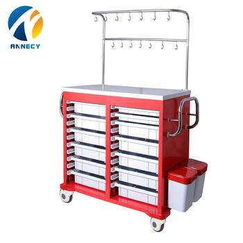 AC-IT033 good quality new design infusion iv abs treatment trolley with wheels