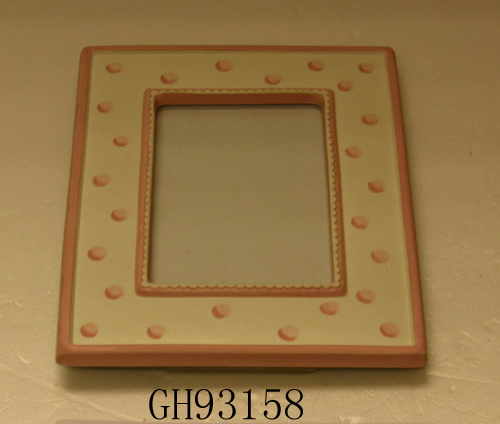 Light-weight ceramic picture frame,frame photo