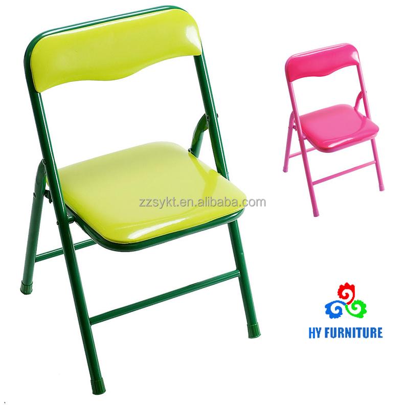 Strange Small Metal Kids Salon Folding Chairs For Children Wholesale Buy Kids Salon Chair Small Folding Chair Metal Folding Chairs Product On Alibaba Com Cjindustries Chair Design For Home Cjindustriesco