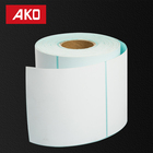 Blue Glassine Thermal Transfer Product label