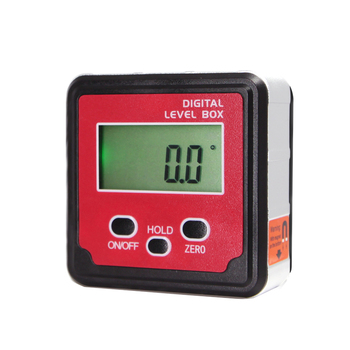 WTTilt1 Digital Inclinometer 360 Degree Mini Back light Level bevel Box Magnetic Base Digital electronic Angle Protractor