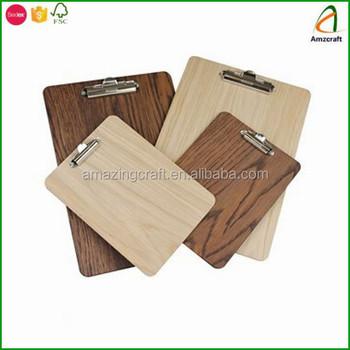 卸売素朴な木製クリップボードレストランメニューホルダー buy 素朴な