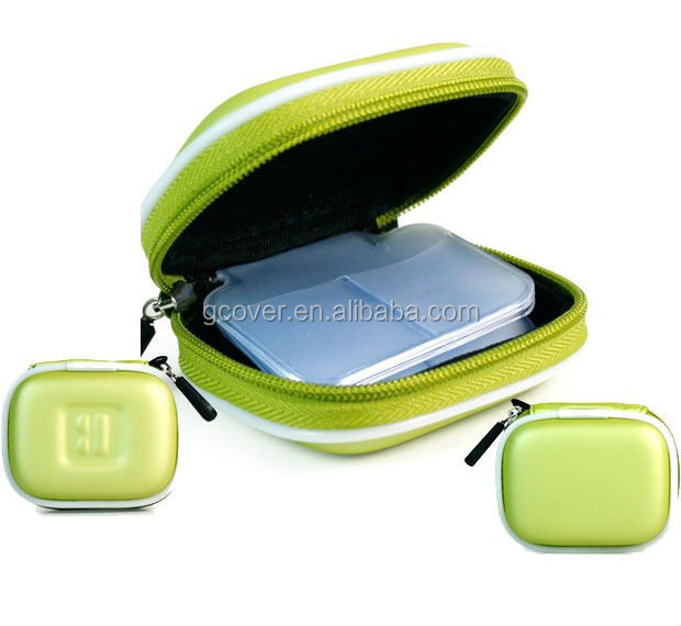SD memory Card plastic case, EVA SD Card Case