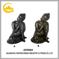 Thailand Buddha Figurine Resin Material Antique Finished