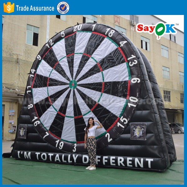 inflatable football darts game inflatable soccer dart board
