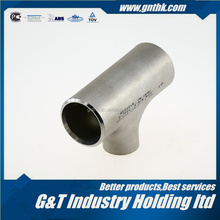 Stainless steel GT 1-1/2'' SCH10S ASME B16.9 304L-S pipe tee