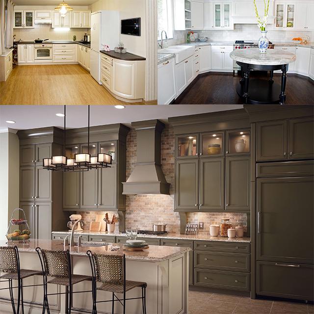 Venta al por mayor fabricantes gabinetes cocinas-Compre online los ...