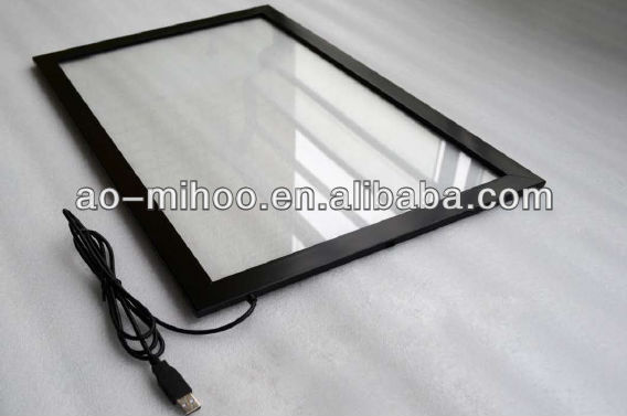 "26"" OutDoor IR Touch screen SU plastic frame with 2points touch for TV & PC without glass"