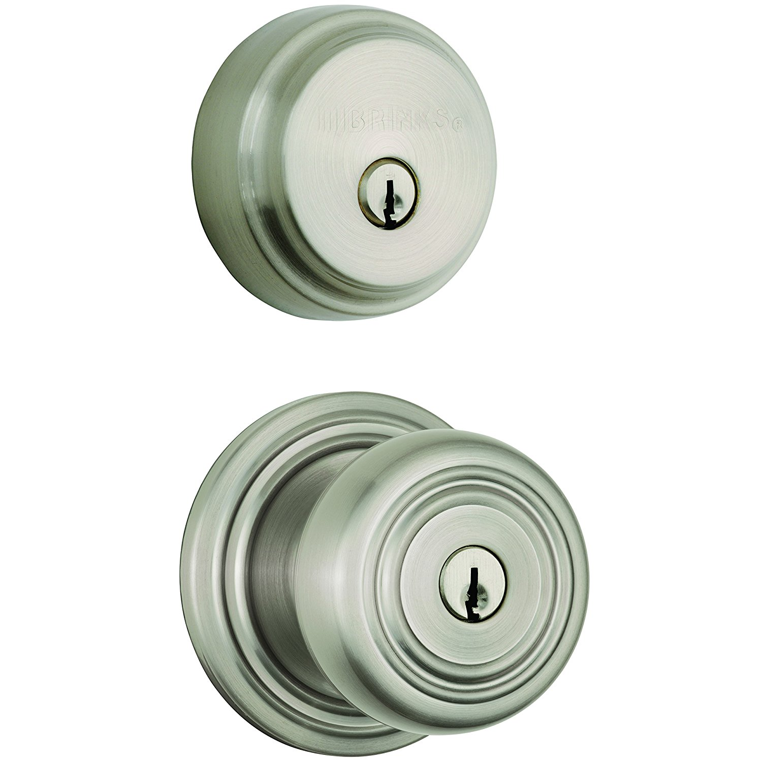 Bon Get Quotations · Brinks Home Security Push Pull Rotate Door Locks 23084 119  Webley Combination Pack With Entry