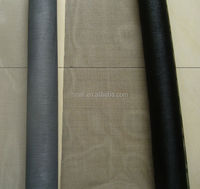 Durable vinyl roll up fiberglass anti insect mosquito window screen mesh
