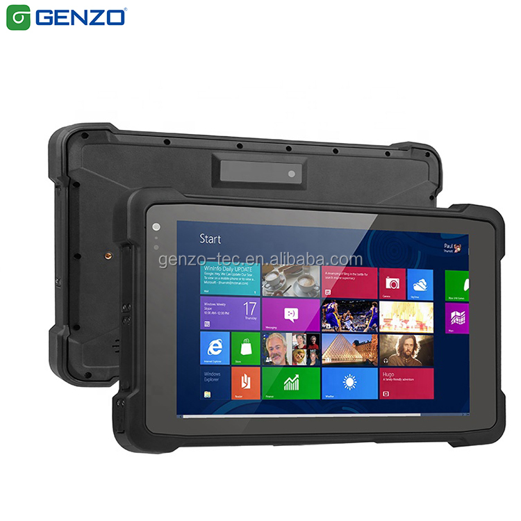 Cheapest price 8 inch Industrial Rugged vehicle inspection and test tablet with uhf rfid reader and 2d barcode scanner фото